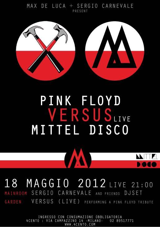 Versus VS Pink Floyd – 18.05.2012