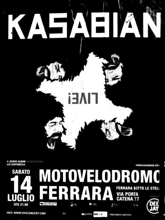Kasabian – Ferrara sotto le stelle (Ferrara) 14/07/12