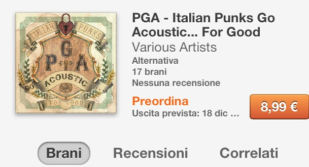 PGA – Italian Punks Go Acoustic… For Good
