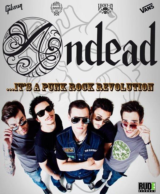 Build Not Burn: il nuovo album degli Andead