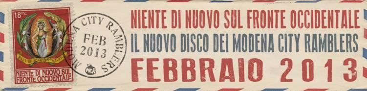 Triplo appuntamento romano per i Modena City Ramblers!