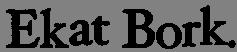 Da oggi è online il nuovo brano di EKAT BORK!