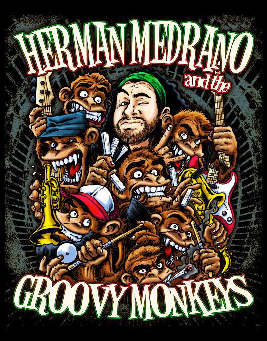 """NOSECONOSSEMO"", il nuovo album di HERMAN MEDRANO & THE GROOVY MONKEYS"