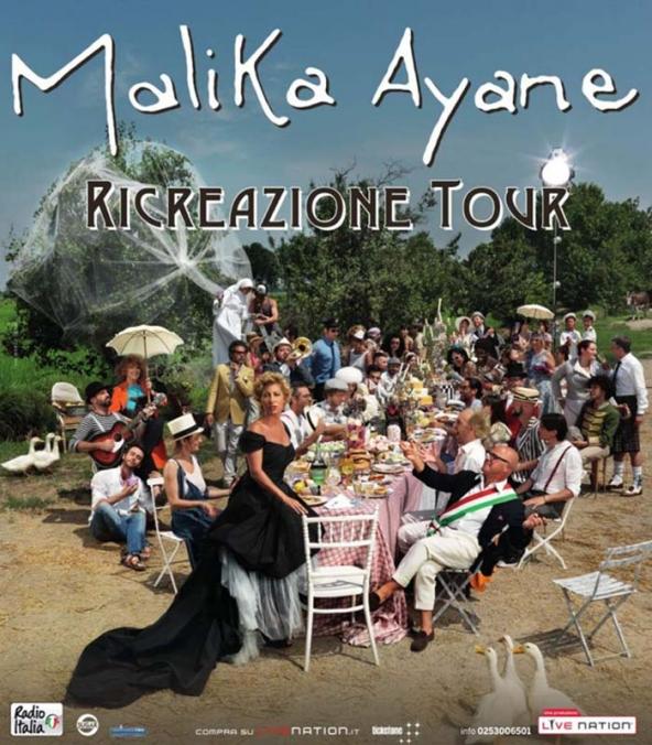 Bari, 24 maggio: data zero del RICREAZIONE tour di Malika Ayane