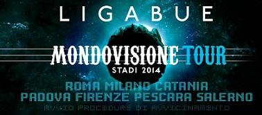 Aggiunte nuove date al Mondovisione Tour – Stadi 2014 di Ligabue