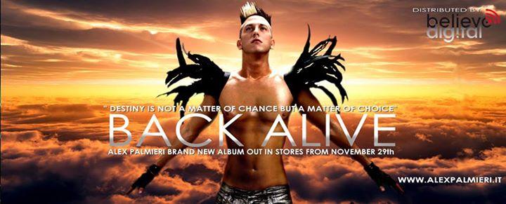 Back Alive: il primo album della webstar Alex Palmieri!