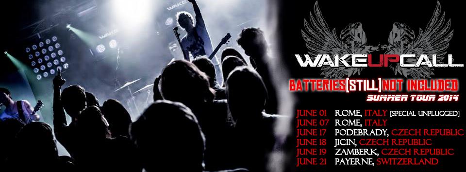 WakeUPCall: le prime date confermate del tour estivo!