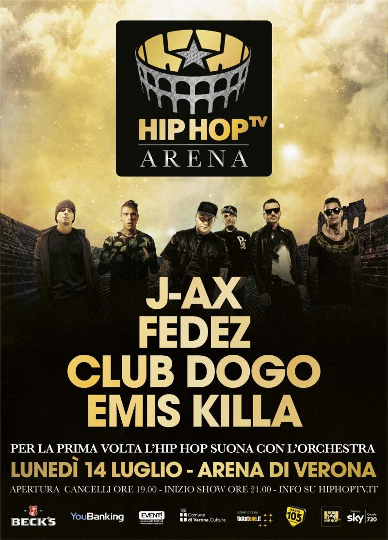 Per la prima volta l'hip hop conquista l'Arena!