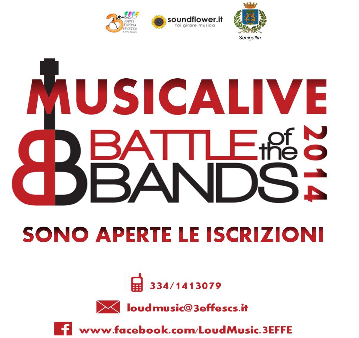 MusicAlive 2014: il CONTEST più agguerrito di Senigallia