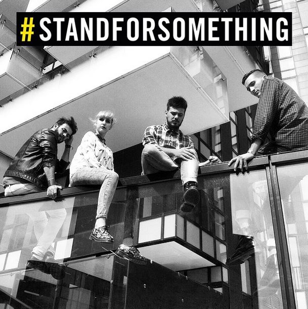 POLAR STATION primi vincitori del #STANDFORSOMETHING