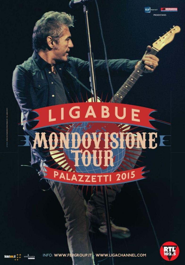 """LIGABUE: Ad Aprile """"Giro del Mondo"""" il nuovo CD+DVD live!"""