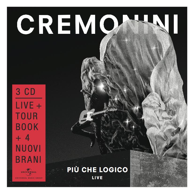 """CESARE CREMONINI il nuovo album """"Più che Logico (Live)"""""""