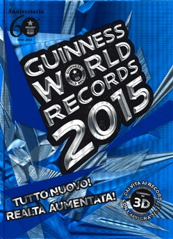 Libro del mese – Guinness Book of World Records 2015