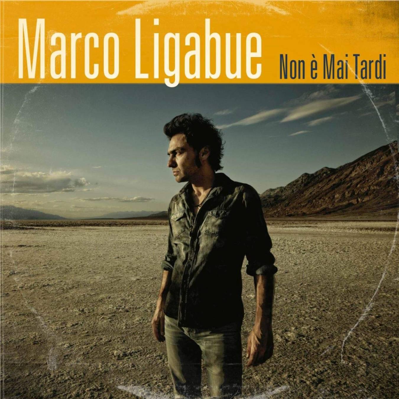 """Marco Ligabue: è online """"Non è mai tardi"""", il nuovo singolo!"""