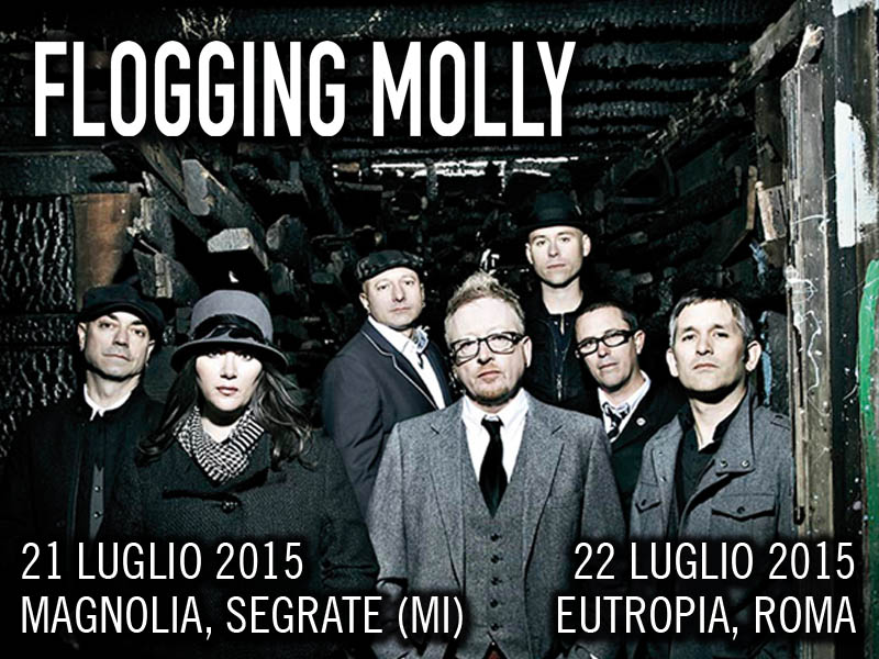 I FLOGGING MOLLY in Italia!