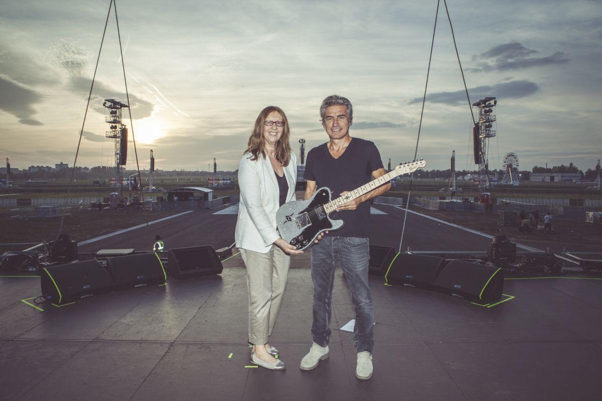 LIGABUE: una speciale chitarra Telecaster Custom Shop!