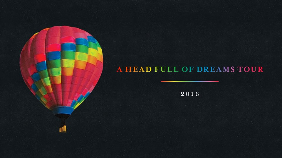 "Coldplay: ecco le date dell' ""A Head Full Of Dreams Tour 2016""!"