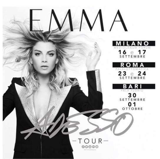 Emma Adesso Tour