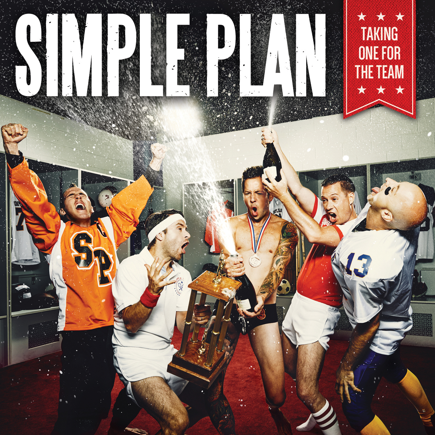 "Simple Plan: ""I'll do it for the band, I'll take one for the team."""