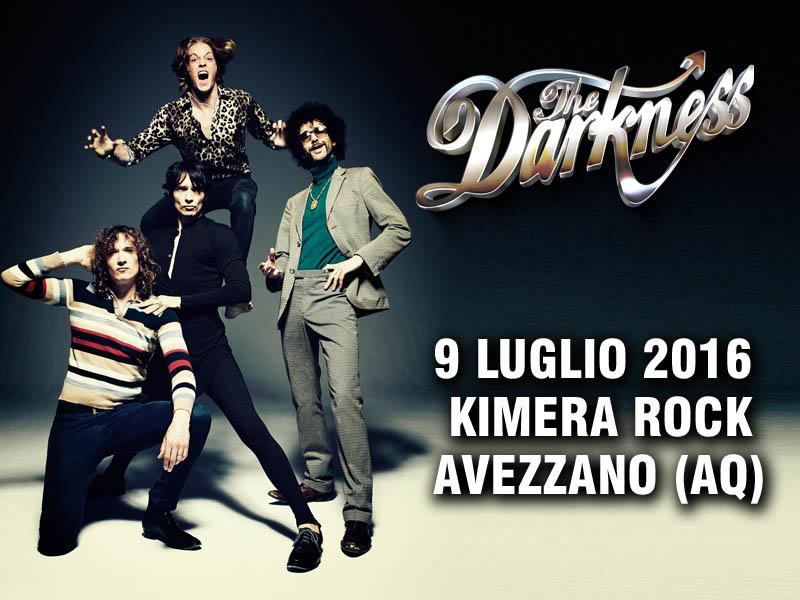 The Darkness: il 9 luglio l'unica data italiana!