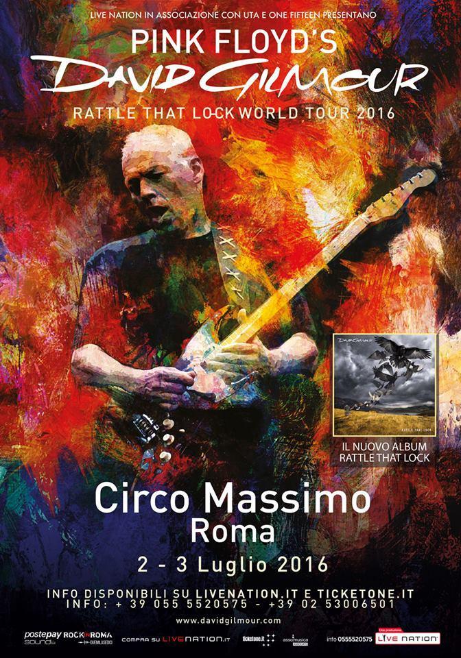 David Gilmour: a luglio conquisterà il Circo Massimo!