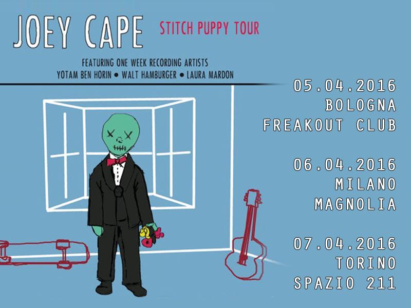 Joey Cape: mancano solo pochi giorni al tour italiano!