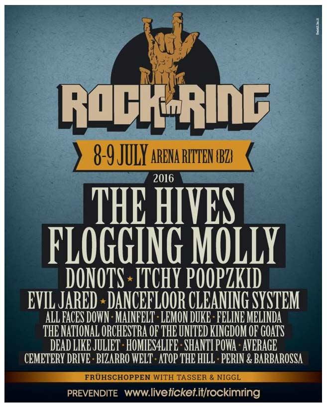 Inizia domani il ROCK IM RING!