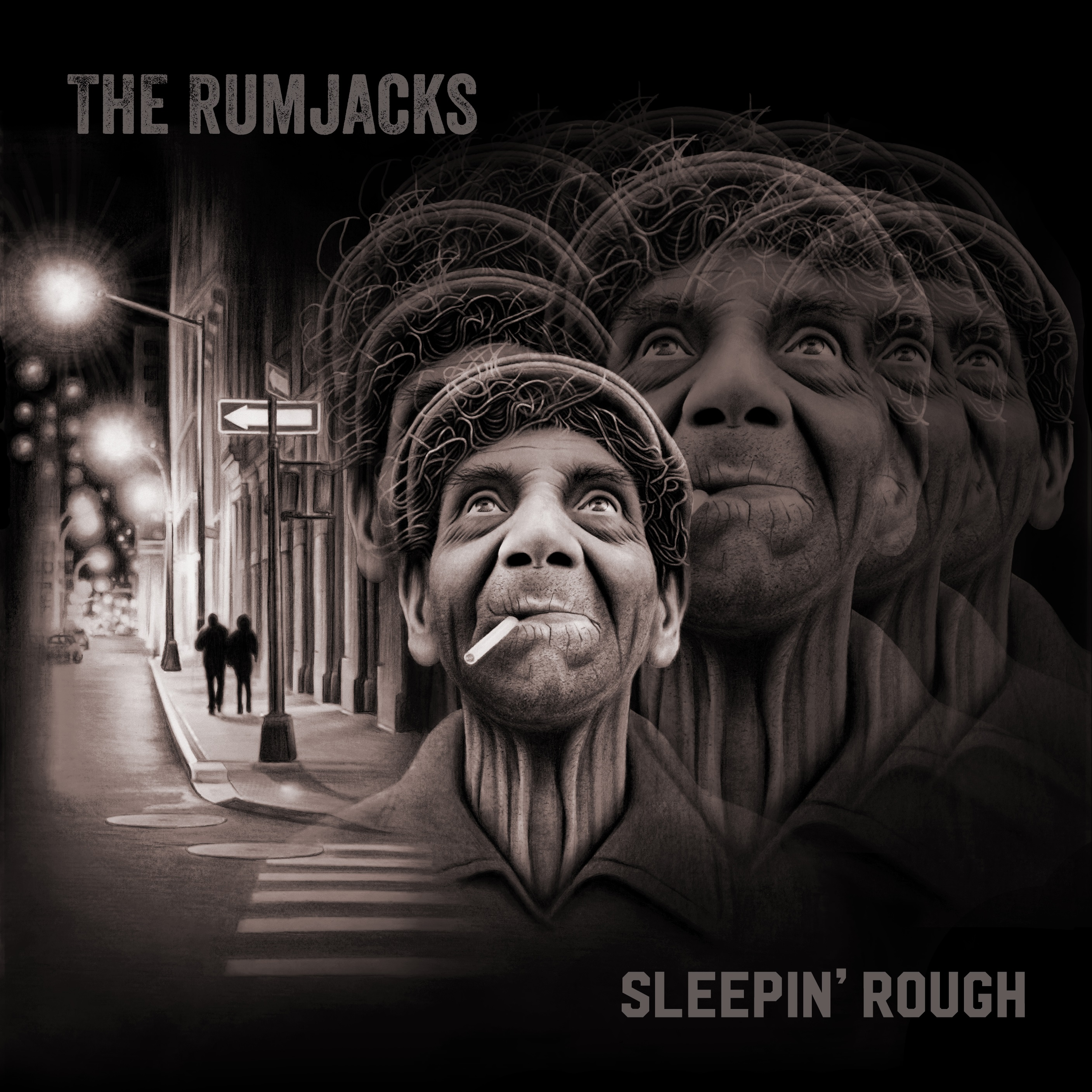 "THE RUMJACKS: ""SLEEPIN' ROUGH"""