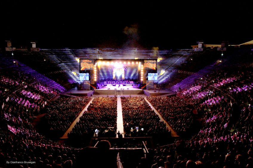 FESTIVAL SHOW il 13 settembre all'Arena di Verona