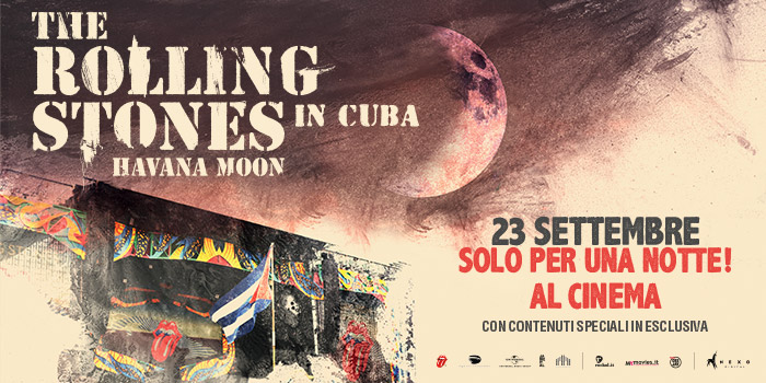 The Rolling Stones – Havana Moon in Cuba, il film!