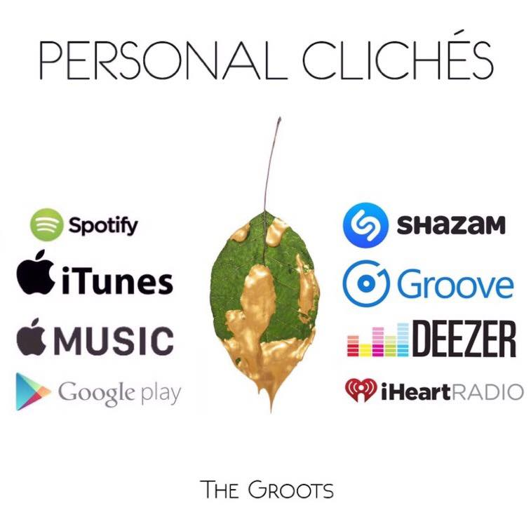 "The Groots: ""Personal Clichés""  disponibile in streaming e nei digital store!"