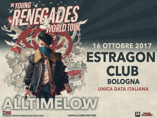 ALL TIME LOW: una nuova data in Italia a Ottobre!