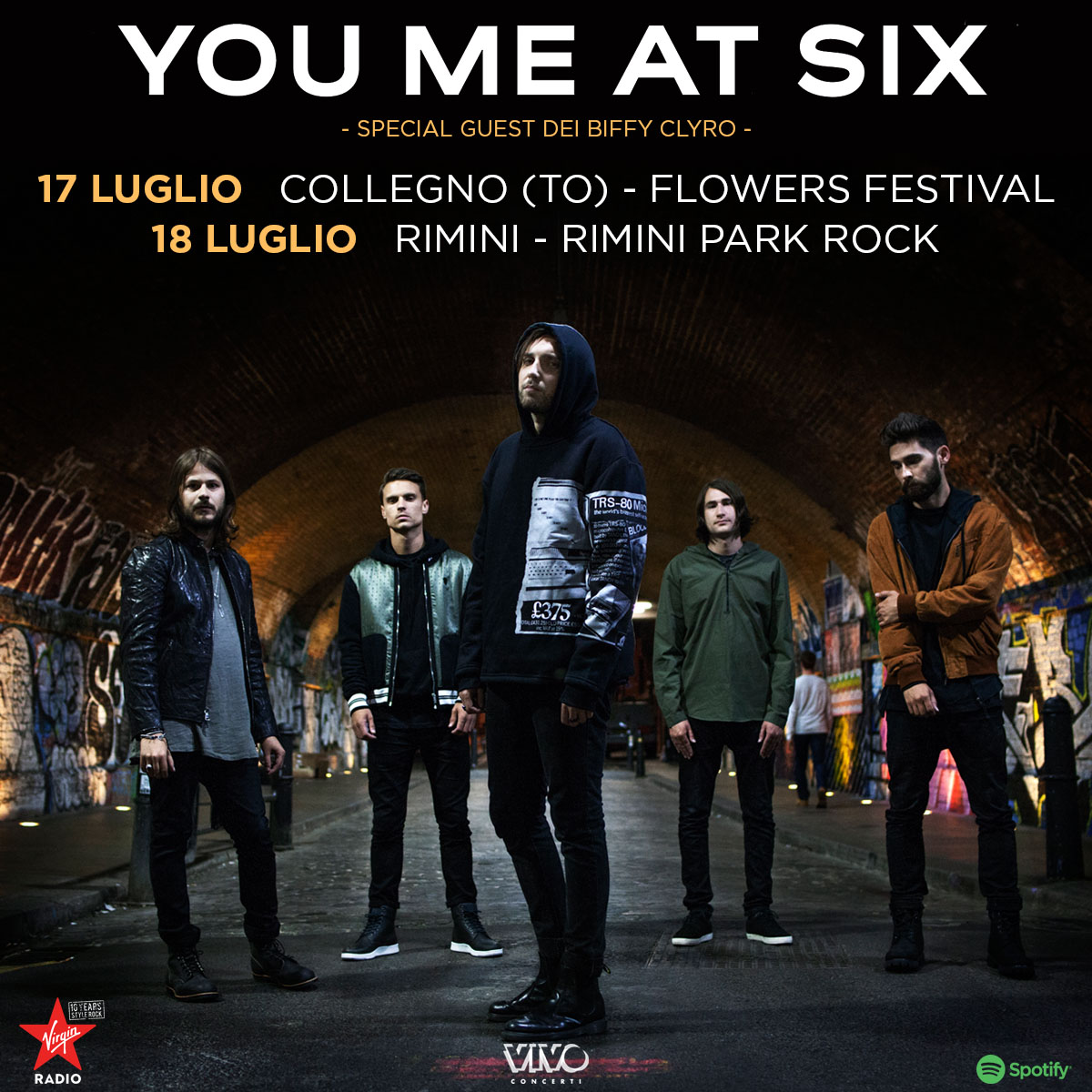 You Me At Six: nuove date in Italia!