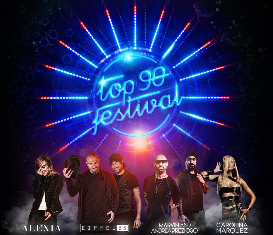 TOP 90 FESTIVAL con ALEXIA, EIFFEL 65, MARVIN & ANDREA PREZIOSO, CAROLINA MARQUEZZ