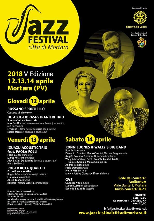 Jazz Festival Città di Mortara: dal 12 al 14 aprile