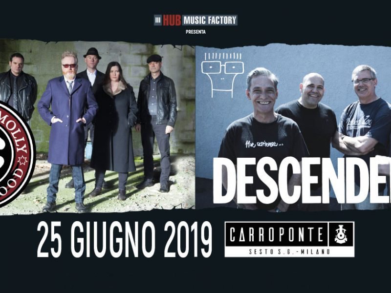 Flogging Molly e Descendents in un'unica serata!