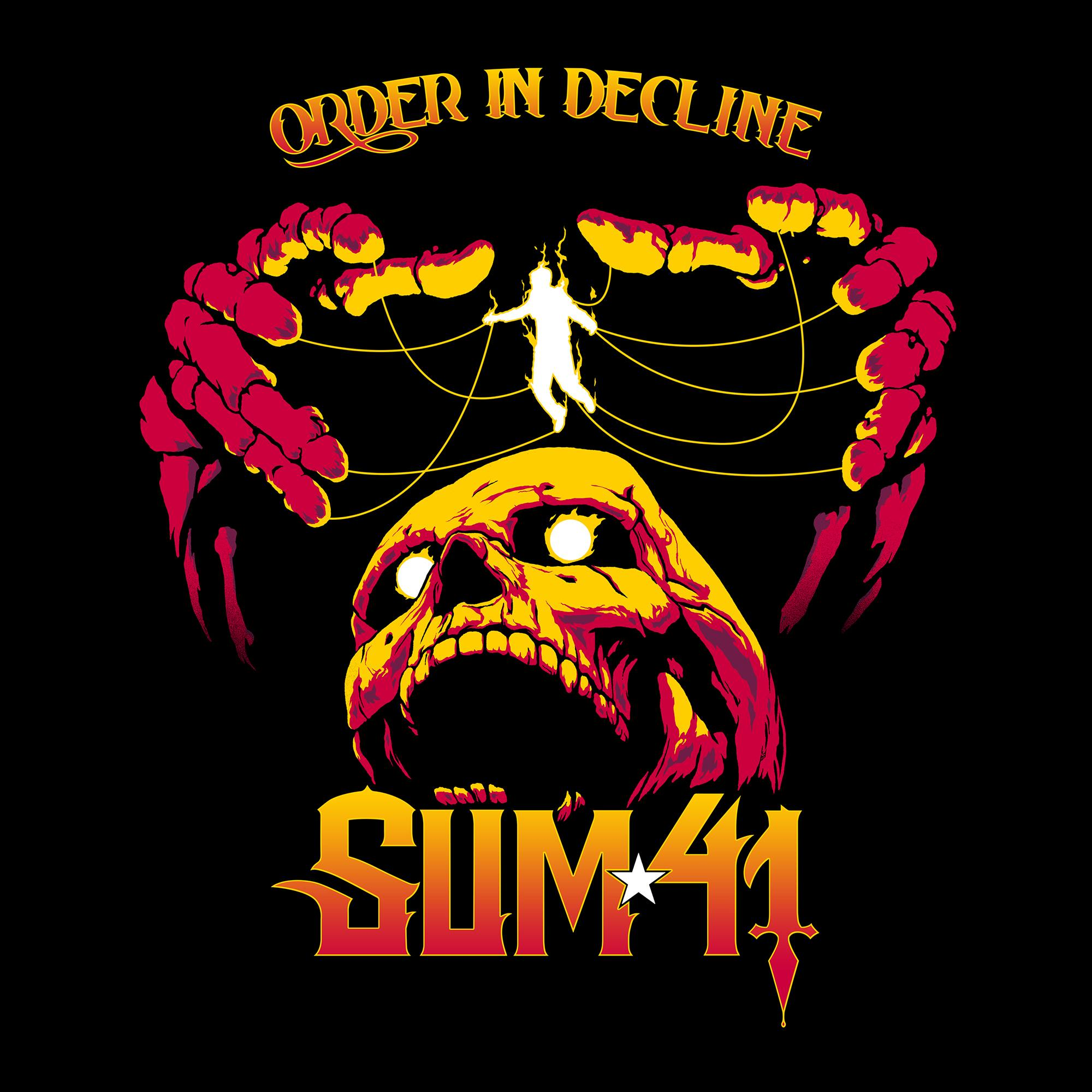 sum 41 order in decline cover