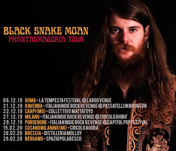 Black Snake Moan sta per partire il suo Phantasmagoria Tour