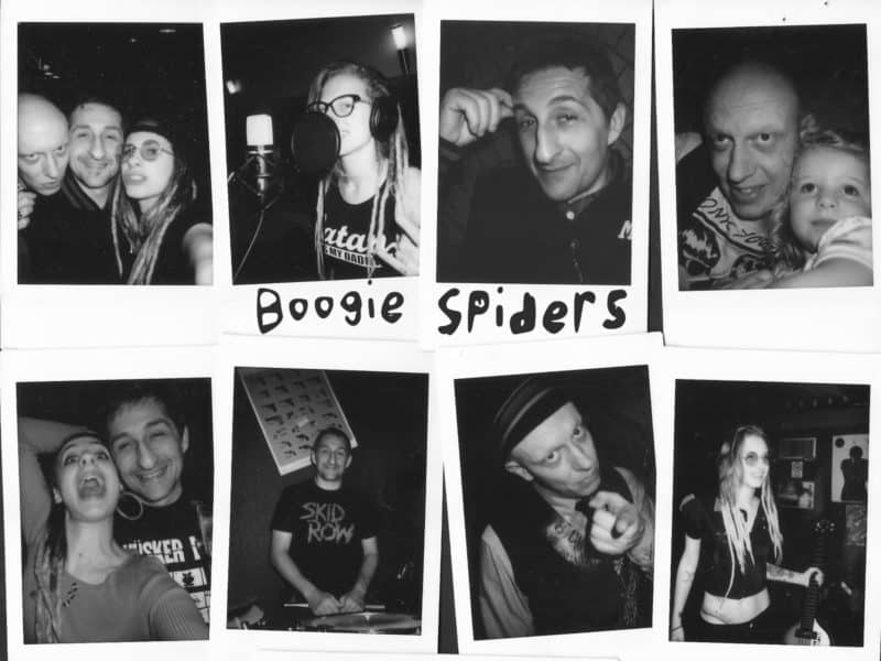 Boogie Spiders e il loro quarto album Inner Gold: punk & rock'n'roll
