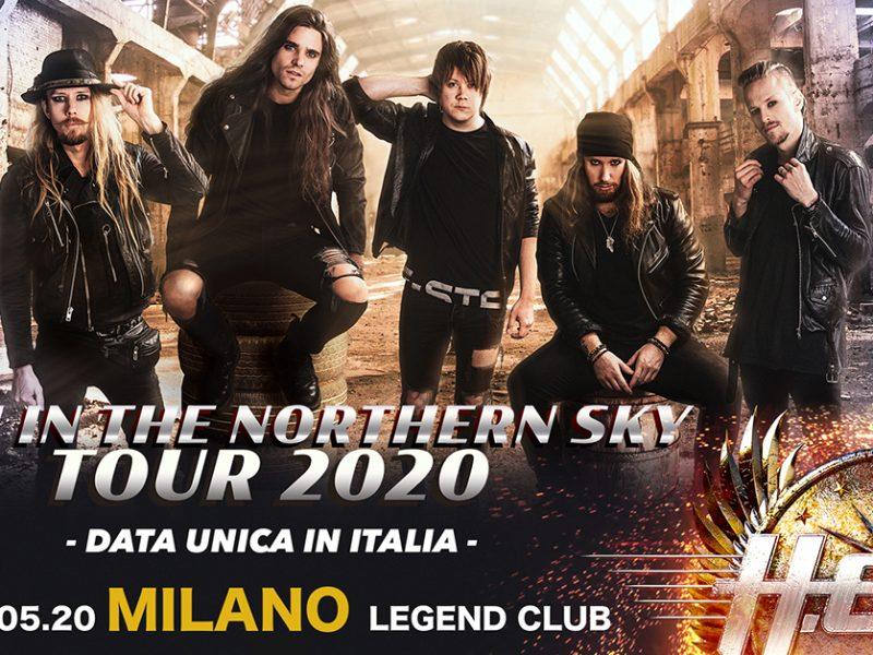 H.E.A.T., la rock band svedese torna in Italia per unico show!