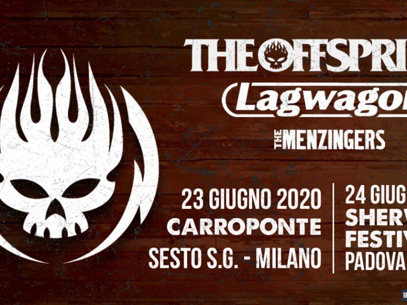 The Offspring tornano in Italia nel 2020