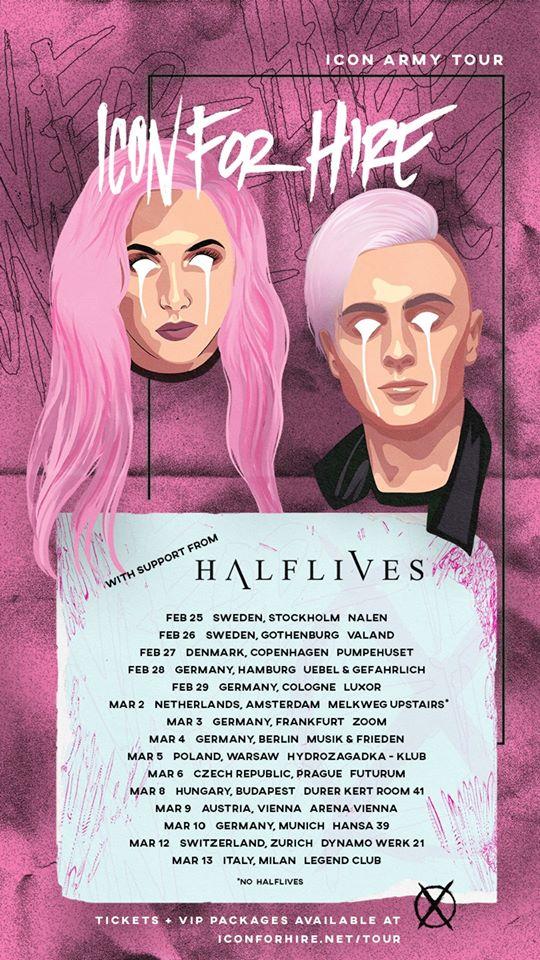 Halflives tour