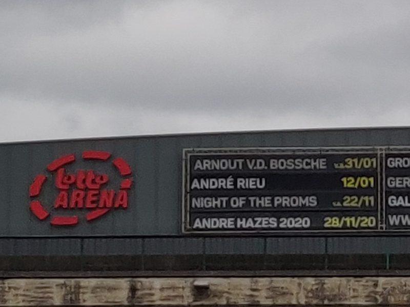 Recensione: Lotto Arena – Anversa, Belgio