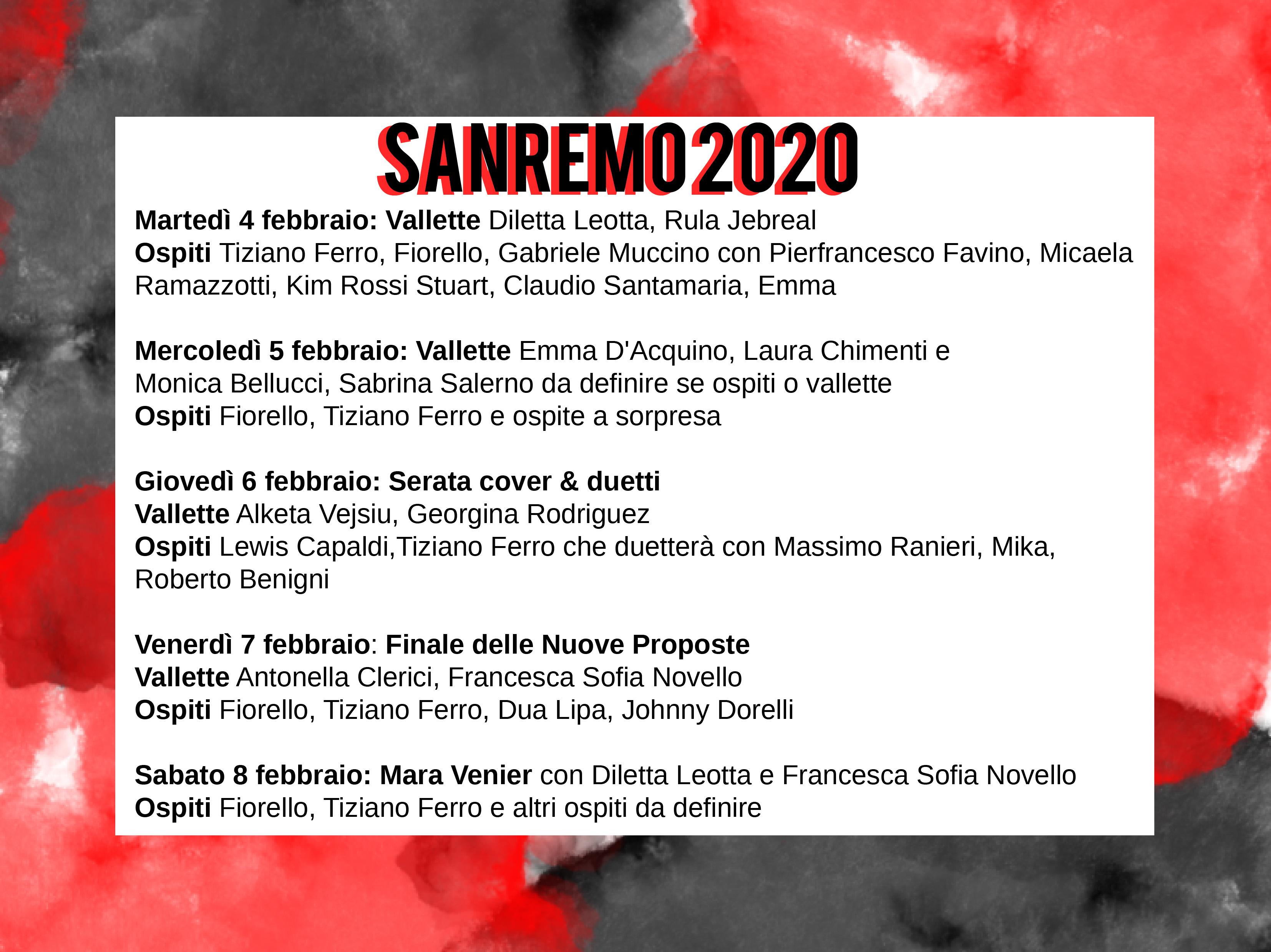 Festival di Sanremo - Serate