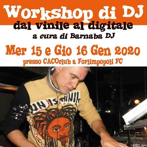 Workshop di DJ: dal vinile al digitale