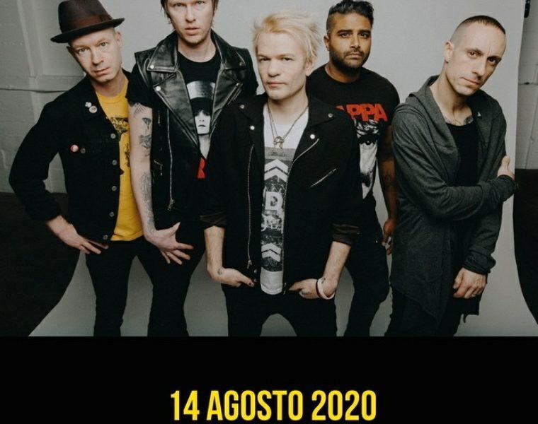 Sum 41 ritorno in Italia ad Agosto: due date imperdibili