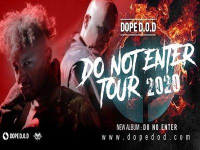 DOPE D.O.D. concerto a Milano annullato: tutte le info