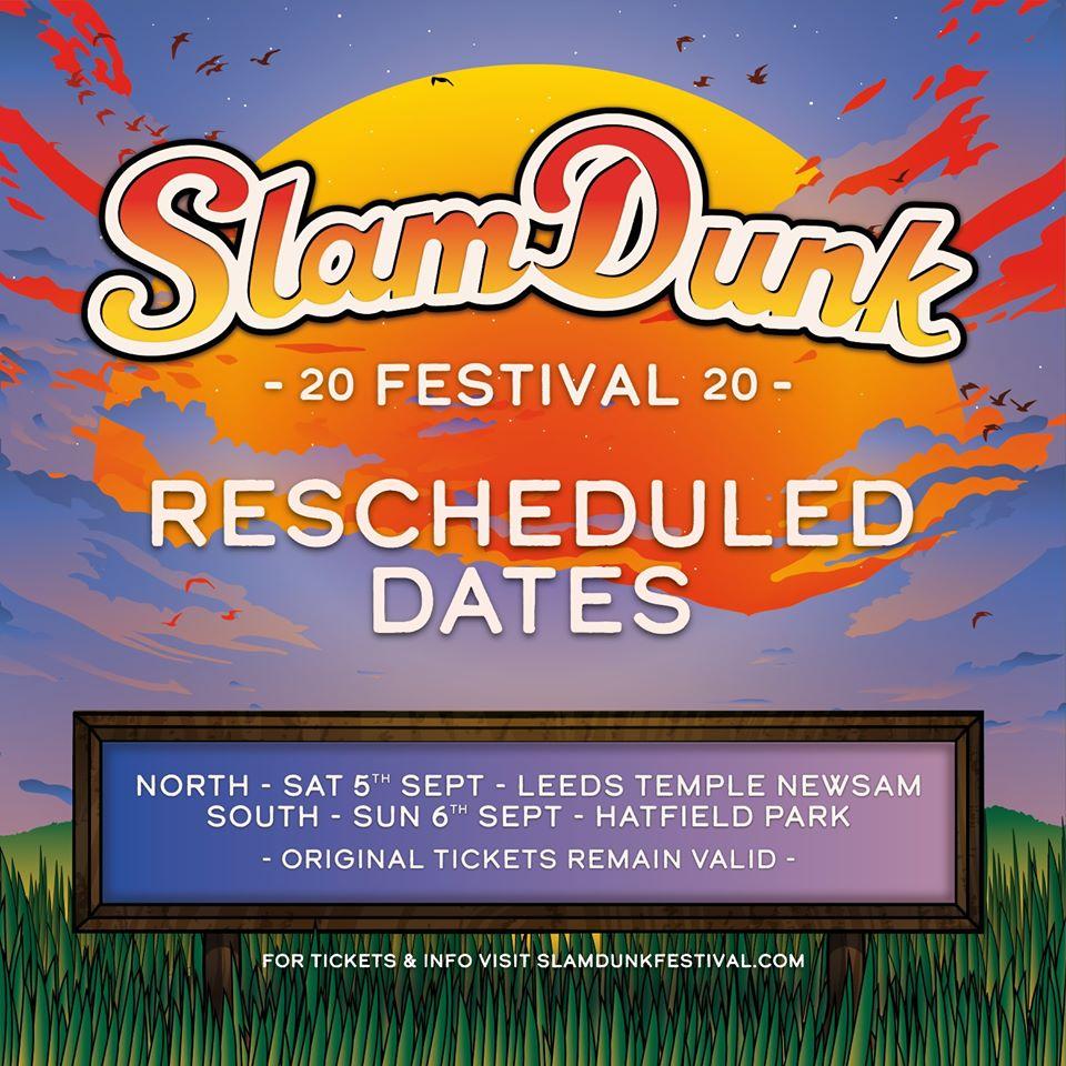 slam dunk festival posticipato