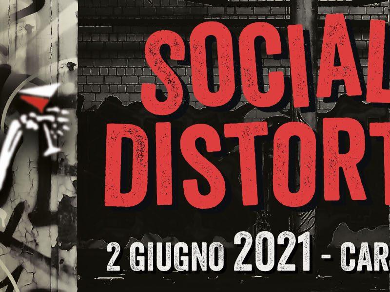 Social Distortion: concerto in Italia rinviato al 2021