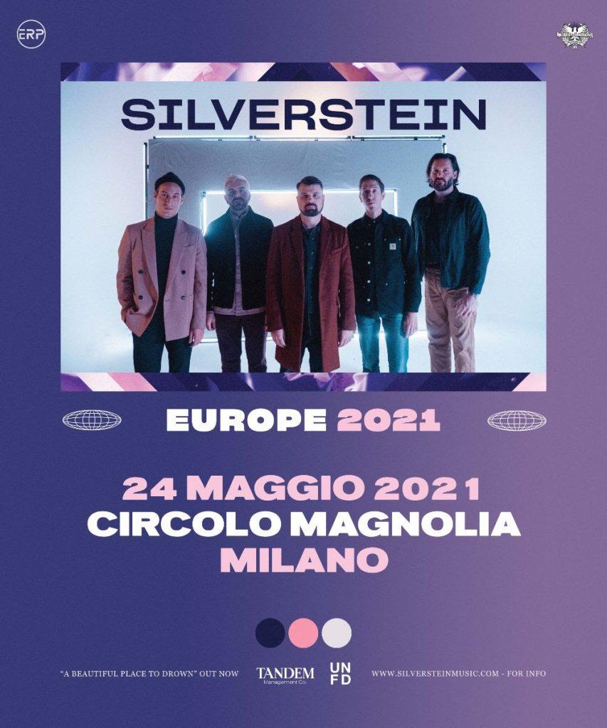 silverstein ritornano in italia